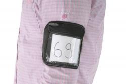 Tasche für Ausstellungsnummer