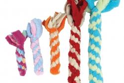 Stab mit Knote - Spielzeug für Hunde