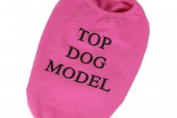 T-shirt Top Dog Model