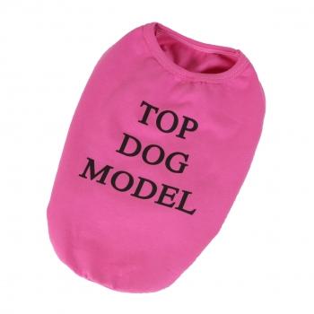 T-shirt Top Dog Model